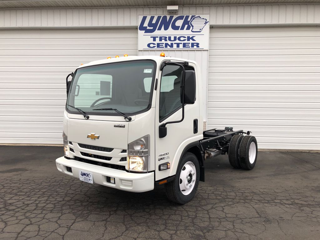 New 2018 Chevrolet 4500 LCF GAS 109 WB REG