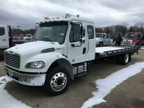 New 2018 Freightliner M2 Extended Cab Carrier (In production)