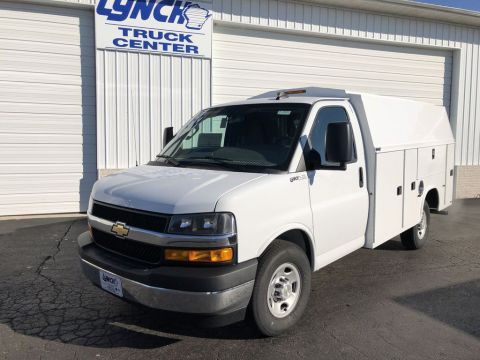 New 2018 Chevrolet Express 3500 139 IN WB CUTAWAY