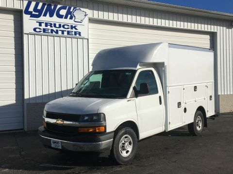 New 2017 Chevrolet Express Commercial Cutaway RWD Regular Cab Van Body