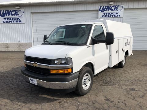 New 2019 Chevrolet Express 3500 139 IN WB CUTAWAY
