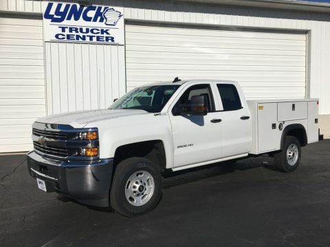 New 2018 Chevrolet Silverado 2500HD RWD Service Body
