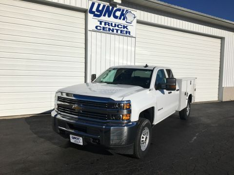 New 2017 Chevrolet Silverado 2500HD 4WD Service Body