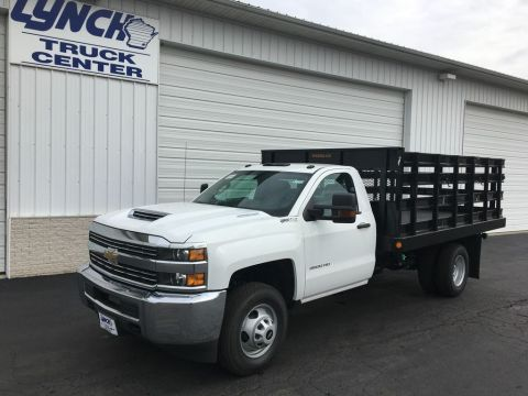 New 2017 Chevrolet Silverado 3500HD RWD Stake Bed