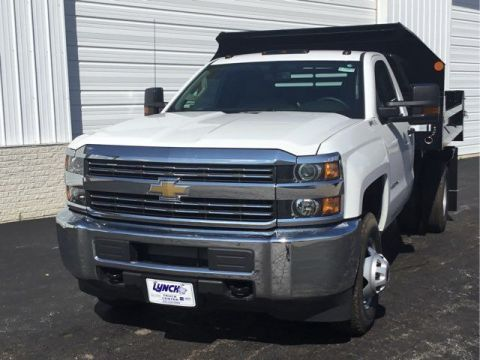 New 2017 Chevrolet Silverado 3500HD 4WD Dump Body