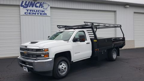 New 2017 Chevrolet Silverado 3500HD 4WD Platform Body