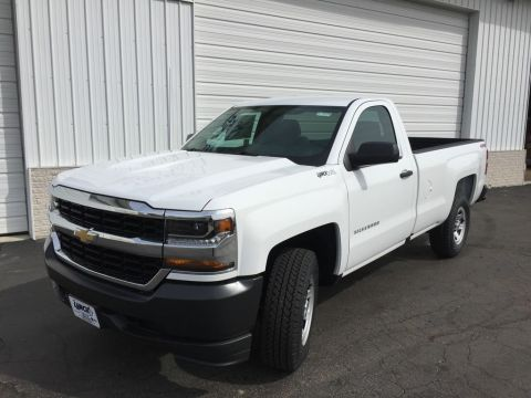 New 2018 Chevrolet Silverado 1500 4WD Pickup