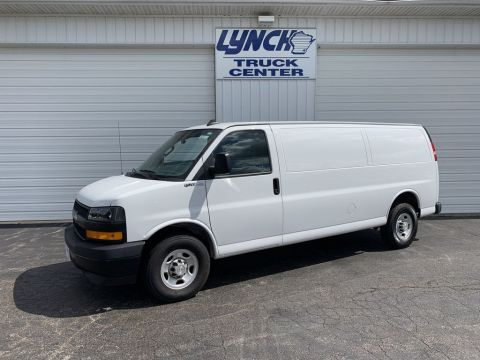 Pre-Owned 2019 Chevrolet Express Cargo Van BASE