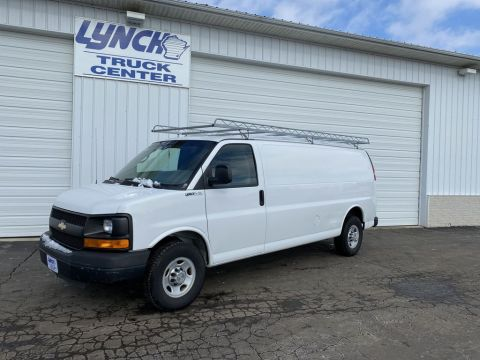 Pre-Owned 2010 Chevrolet Express Cargo Van BASE