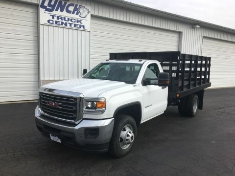 New 2017 GMC Sierra 3500HD RWD Stake Bed