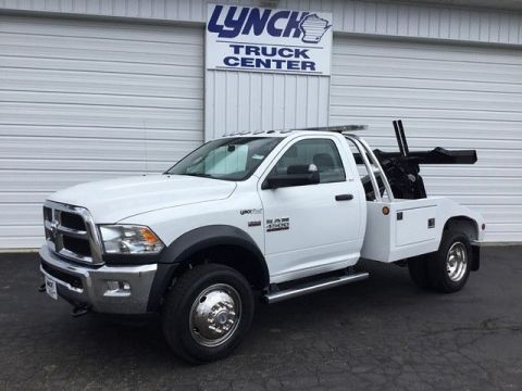 New 2017 RAM 4500 Chassis Cab Rear Wheel Drive Regular Cab Wrecker