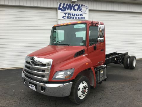 New 2018 Hino 258ALP Regular Cab Carrier (In production)